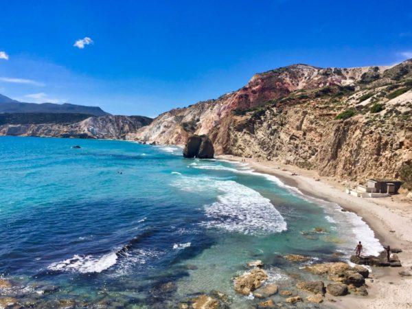 Milos: Fyriplaka Beach