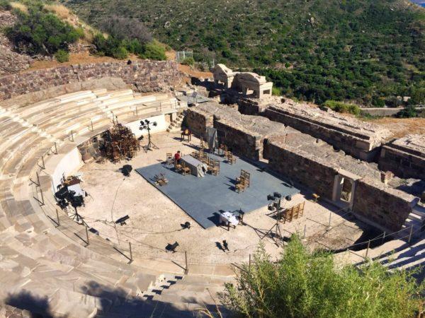 Griechisches Theater von Tripiti