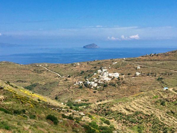Szenen der Inselrundfahrt auf Serifos