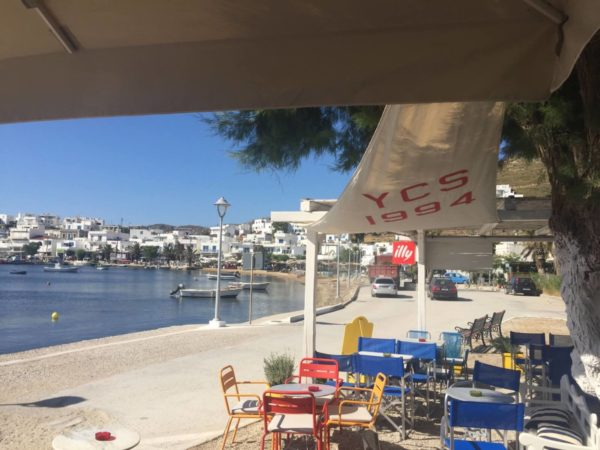 Lieblingsplatz auf Serifos: Yacht Club in Livadi