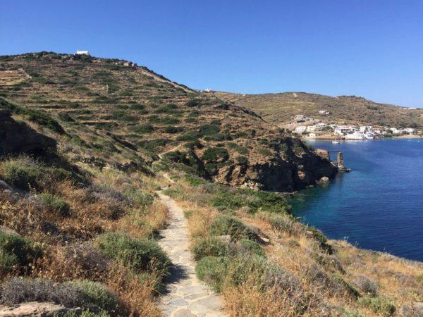 Sifnos: Wanderweg von Faros zur Wallfahrtskirche Chrissopis