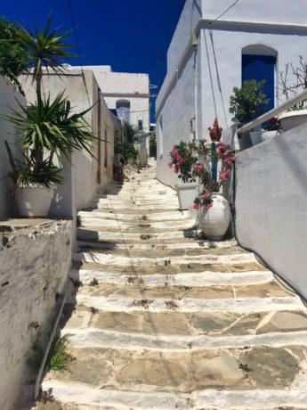 Die weiße Stadt Chora auf Serifos