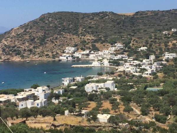 Sifnos: Blick auf Platys Gialis