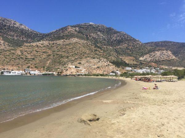Sifnos: Strand von Platys Gialis