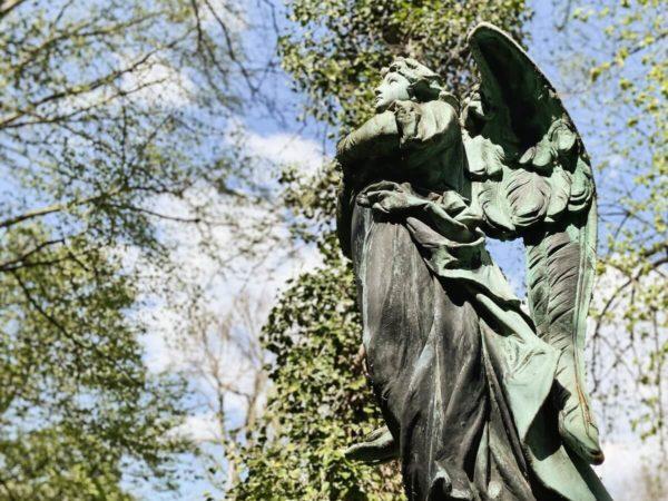 Engel auf dem Alten Südlichen Friedhof