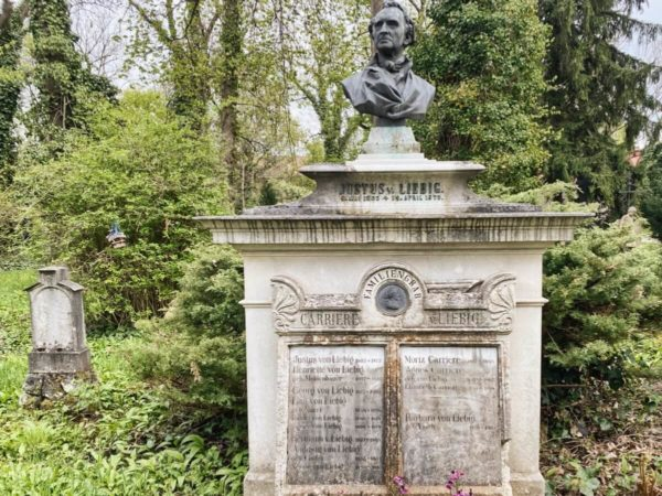 Alter Südlicher Friedhof – Grab von Justus Liebig