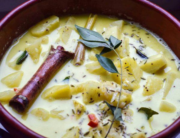 Ananas-Curry mit Zimt aus Sri Lanka