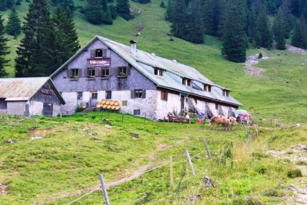 Nostalgie auf der Alpe: Willersalpe