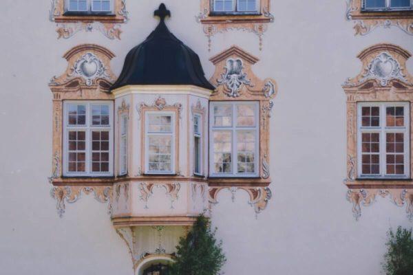 Klosterfassade Benediktbeuern