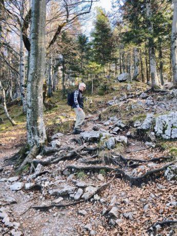 Aufstieg zum Jochberg