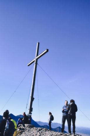 Gipfelkreuz am Jochberg
