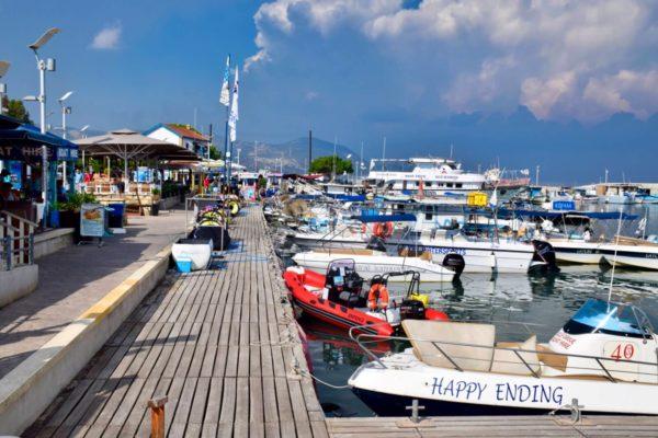 Hafen von Latchi auf der Akamas-Halbinsel