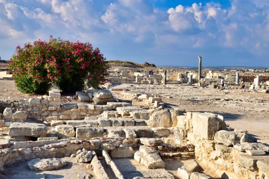 Die Ruinen von Kourion