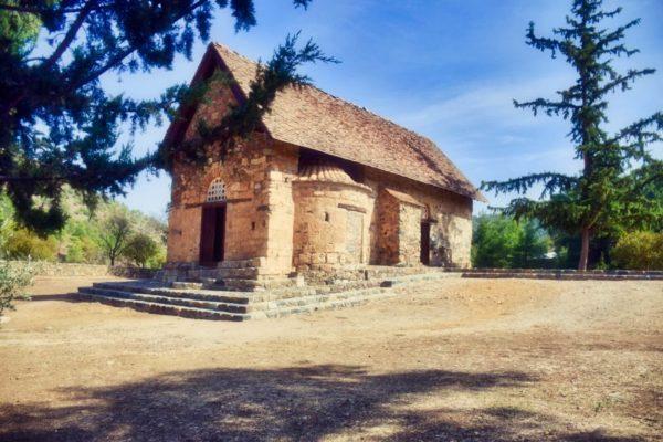 Scheunenkirche von Asinou