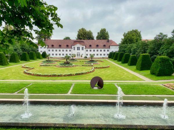 Orangerie in der ehemaligen Stiftsstadt von Kempten