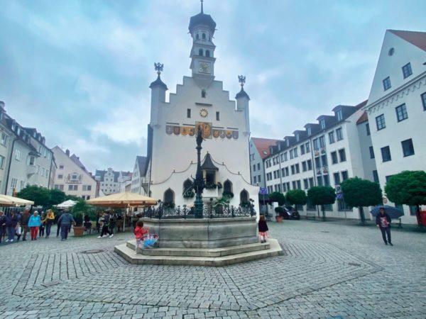 Rathaus in der ehemaligen Reichsstadt von Kempten