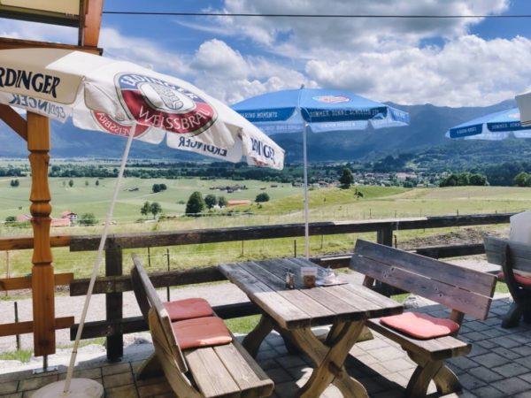 Hofcafé Stern auf dem Weg nach Murnau