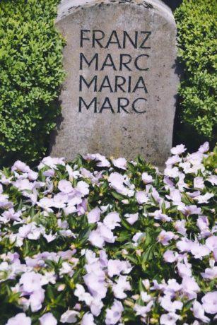 Grab von Franz und Maria Marc in Kochel