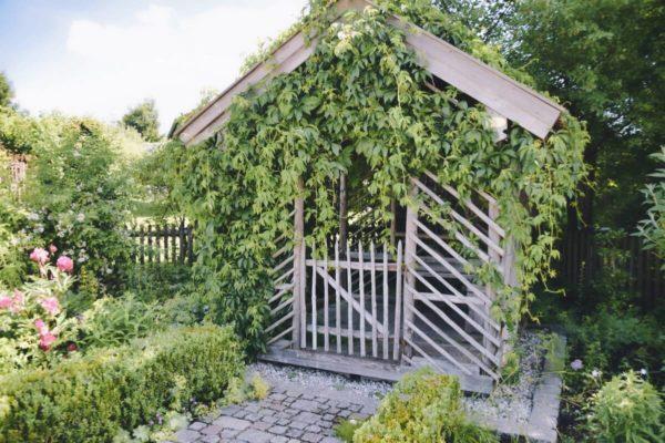 Geburtsort des Blauen Reiters – Gartenlaube in Sindelsdorf
