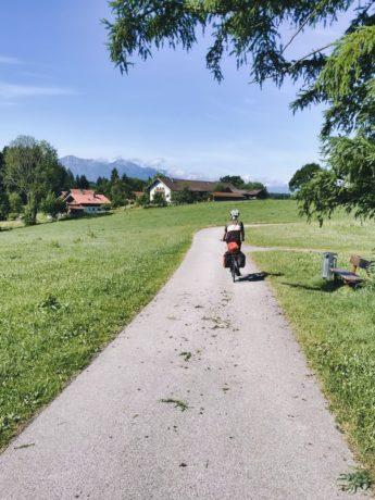 Radtour auf den Spuren des Blauen Reiters
