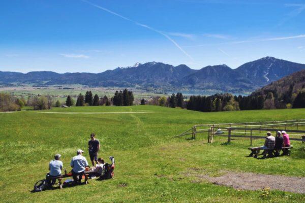 Picknick vor der Kreut-Alm