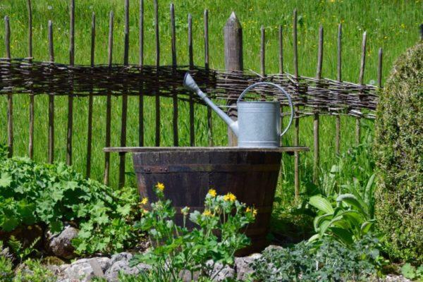 Bauerngarten im Freilichtmuseum Glentleiten