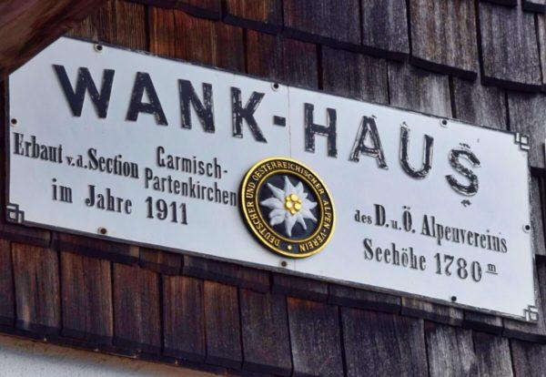 Wank-Haus auf dem Gipfel