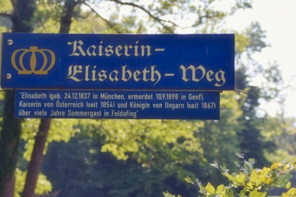 Kaiserin-Elisabeth-Weg am Starnberger See
