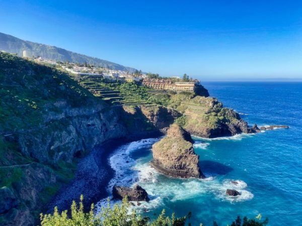 Nordküste mit Blick auf Los Realejos