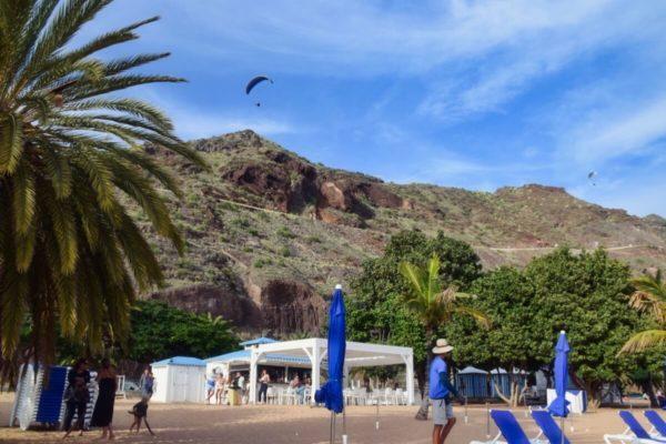 Playa las Teresitas – Hausstrand von Santa Cruz