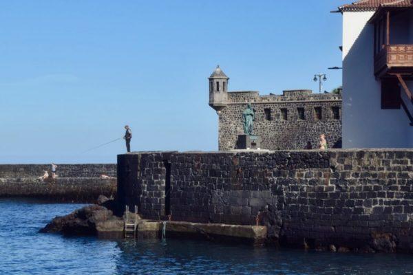 Hafenfestung in Puerto de Santa Cruz