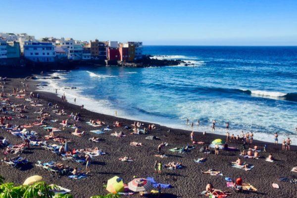 Playa Jardín in Puerto de Santa Cruz