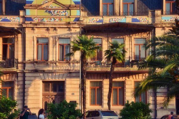 Batumi, Georgien, Belle-Epoque-Viertel