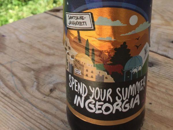 Georgien – Bieretikett