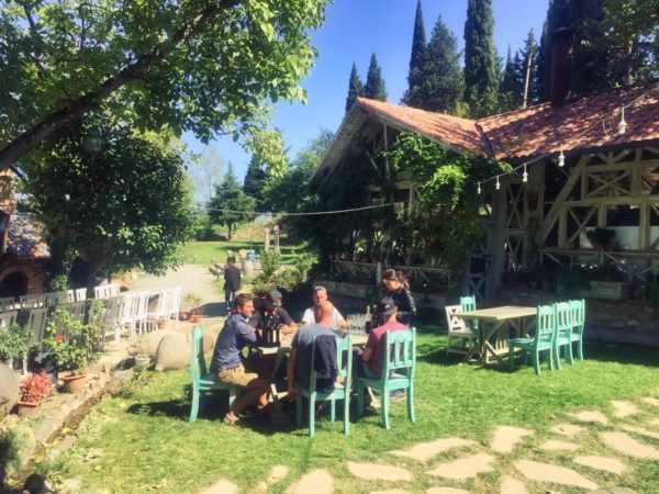 Georgien, Kachetien – Weinprobe