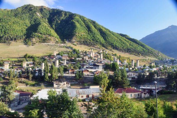 Georgien, Swanetien – Mestia mit Wehrtürmen