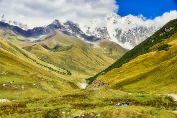 Georgien, Swanetien – Ushguli, Kaukasustäler