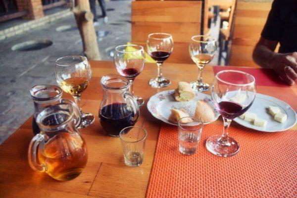 Georgien, Kachetien – Weintrauben