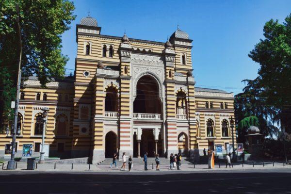 Georgien, Tiflis – Oper im maurischen Stil