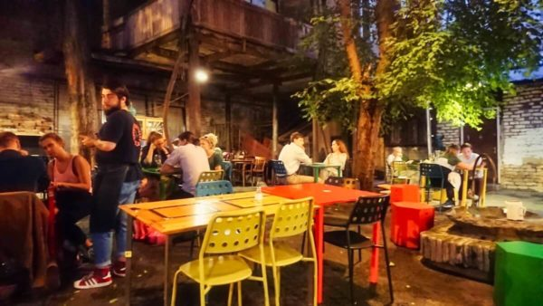 Georgien, Szeneviertel Tiflis