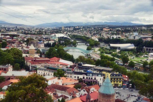 Georgien, Tiflis von oben