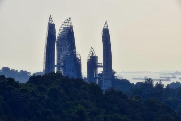 Citytrip Singapur: Reflections von David Libeskind in Kepple Bay