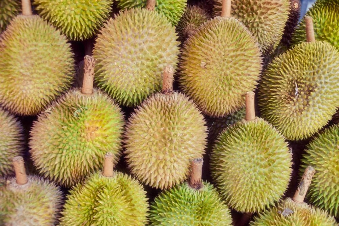 Citytrip Singapur: Durian in Chinatown