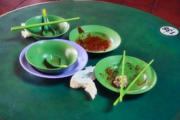 Citytrip Singapur: Foodcourt in Chinatown