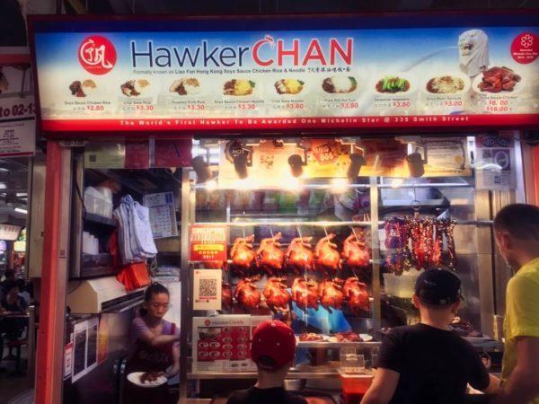 Citytrip Singapur: Hawker Chan in Chinatown