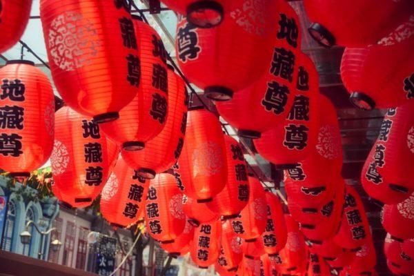 Citytrip Singapur: Lampions in Chinatown