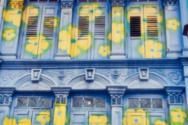 Citytrip Singapur: Shophouses in Chinatown