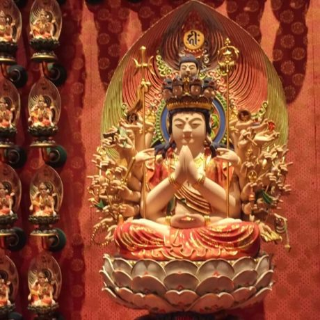 Citytrip Singapur: Touch Relic Temple in Chinatown