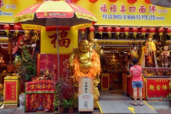 Citytrip Singapur: Glücksbuddhas