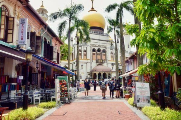 Citytrip Singapur: Sultansmoschee in Kampung Glam